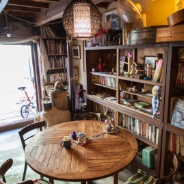 Cafe Mazekoze interior