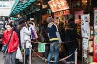 Tsukiji - breakfast hunters