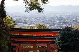 Fushimi Inari - looking over Kyoto (IMG_7954)