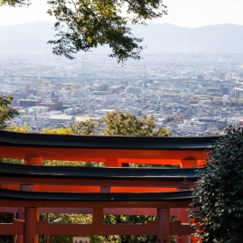 Fushimi Inari - looking over Kyoto (IMG_7954)