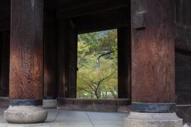 Sanmon Gate - passing through pic 1