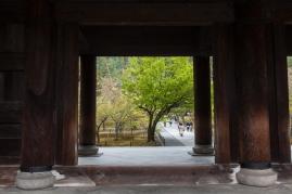 Sanmon Gate - passing through pic 2