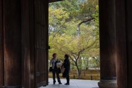 Sanmon Gate - conversation
