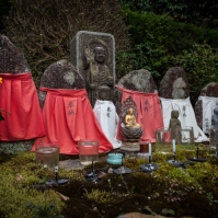 Saisho-in Temple - outdoor shrine
