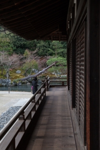Tenryu-ji Temple - Main Hall exterior - south side