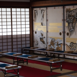 Tenryu-ji Temple - Taho-den building