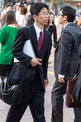 Shibuya Crossing - Salarymen