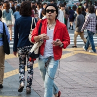 Shibuya Crossing - IPod Man