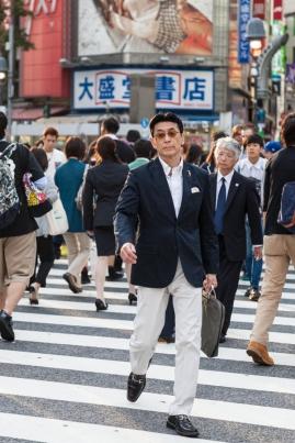 Shibuya Crossing - Sharp Dresser