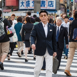 Shibuya Crossing - Sharp Dresser