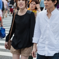Shibuya Crossing - Happy Couple
