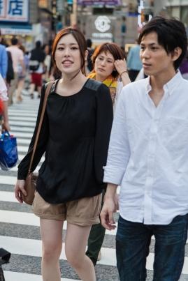 Shibuya Crossing - Happy Couple