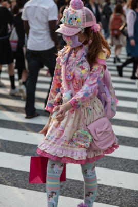 Shibuya Crossing - Miss Candy Hunter