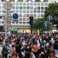 Shibuya Crossing - Outside Shibuya Station