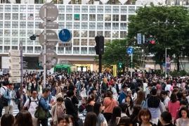 Shibuya Crossing - Outside Shibuya Station
