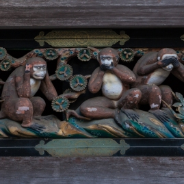 Nikko - Three Wise Monkeys