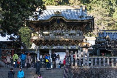 Nikko - Approach to Yomeimon Gate