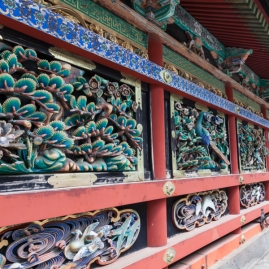 Nikko - Wall Carvings