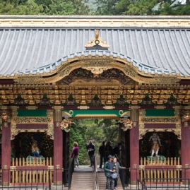 Nikko - Yashomon Gate at Taiyuin Shrine
