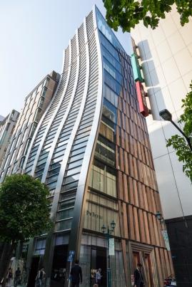 De Beers building at Ginza