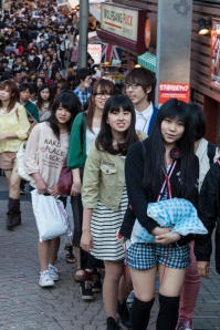 Takeshita Street on a Sunday afternoon