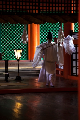 Priest in Main Shrine
