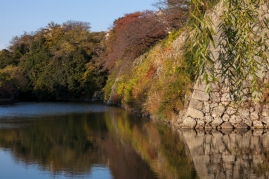Himeji Castle - Outer Wall and Moat