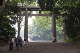 Torii at entrance - pic 2