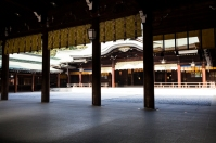Inner view of Heian Shrine