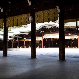 Inner view of Heian Shrine
