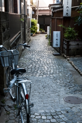 Cobbled Streets of Kagurazaka