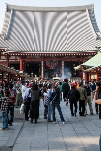 Sensoji Temple - main entrance