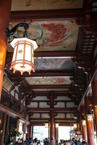 Sensoji Temple - ceiling paintings