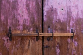 Barred doors at Todaiji Temple - Nara