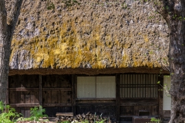 Thatched Roof at Hida No Sato