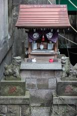 Small local shrine