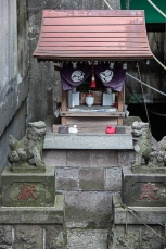 Small local shrine