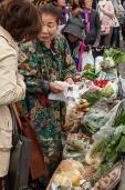 Street vegetable seller