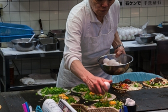 Kyoto style okonomiyaki