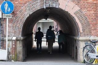 Tunnel under Keage incline