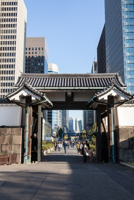 Gateway between old and new Tokyo